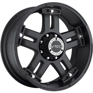 Tec Warlord 20 Matte Black Wheel / Rim 5x5.5 with a 18mm Offset and