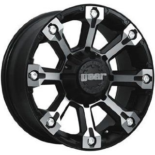 Gear Alloy Backcountry 20x9 Black Wheel / Rim 6x135 & 6x5.5 with a 0mm