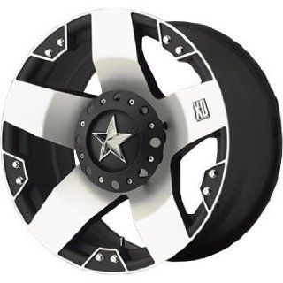 XD XD775 17x8 Machined Black Wheel / Rim 6x135 & 6x5.5 with a 10mm