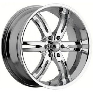 Akuza Dominion 20x9 Chrome Wheel / Rim 6x5.5 with a 10mm Offset and a
