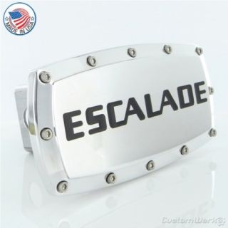 Cadillac Escalade Chrome Billet Tow Hitch Plug Cover