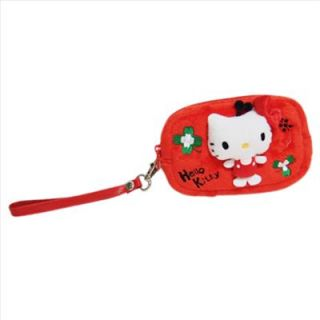 hello kitty ipod phone camera  pouch case clover