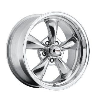 17 inch 17x8 100 P Classic Series Polished aluminum wheels rims