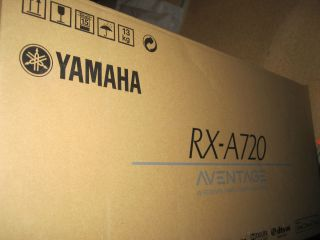 Yamaha RX A720 7 2 Channel Home Theater AV Receiver NEW RXA720