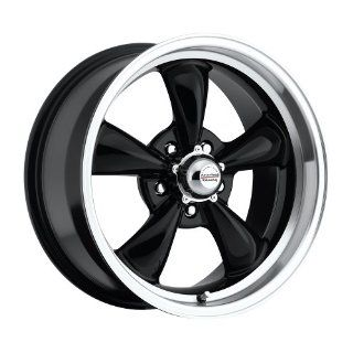 17 inch 17x8 100 B Classic Series Black aluminum wheels rims licensed