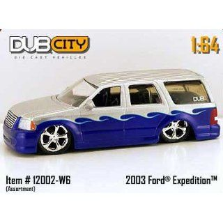 Dub City 164 Scale 2003 Silver And Blue Ford Expedition