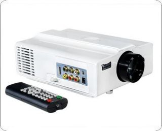 1080p LCD Home Theater Projector HD Wii TV PS3 LED V06W