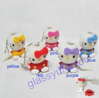 2GB 3D Hello Kitty USB 2 0 Flash Memory Pen Drive V2