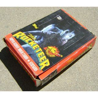 Rocketeer Vintage Topps Movie Trading Card Wax Box Disney