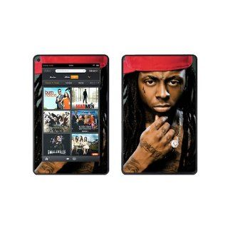 SkinGizmos Lil Wayne Vinyl Adhesive Decal Skin for Kindle