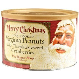 The Peanut Shop of Williamsburg Merry Christmas Santa Mix, 10 Ounce