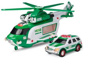 Hess 2012 Toy Truck Helicopter Rescue Never Opened