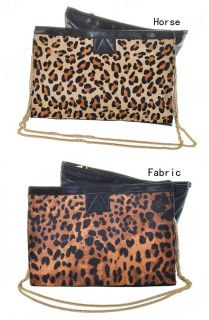 2011 Hot Sale Leopard Printed Women Purse Handbag Clutch Evening Party