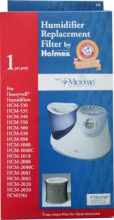 NEW 2 PACK Honeywell Holmes D11 Humidifier Replacement Filter