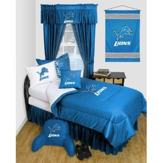 Detroit Lions NFL TWIN Comforter WITH FREE Detroit Lions