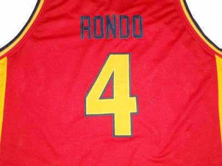 Rajon Rondo Oak Hill High School Jersey Red New Any Size