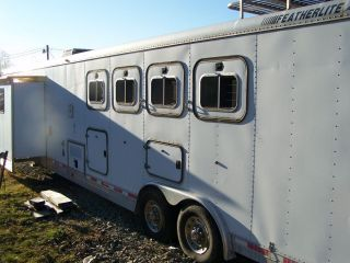 2001 FeatherLite Horse Trailer