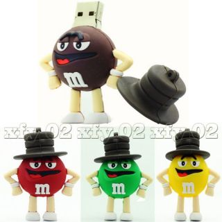 Hot Sale Chocolate Bean Flash Memory Pen Drive Stick Thumb Capacity