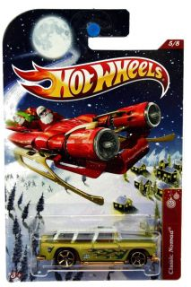 2012 Hot Wheels Holiday Hot Rods 5 Classic Nomad