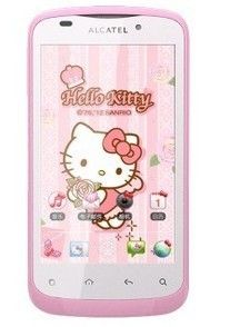 Kitty Android 3G WLAN Camera Smart Gril Cell Phone Pink