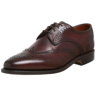 Allen Edmonds Hinsdale Brown Wingtip Oxfords Mens Lace Up Shoe 13 D $