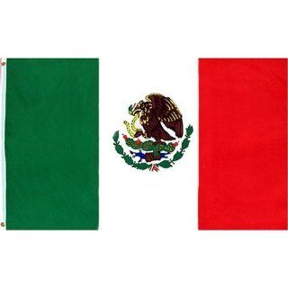 Mexico Flag Polyester 3 ft. x 5 ft.    Mexican flag