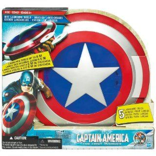 Hasbro Captain America The First Avenger Disc Launching
