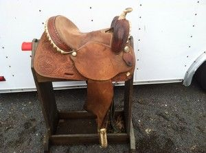 Hereford Tex Tan 14 Barrel Racing Saddle Pleasure
