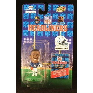 MARSHALL FAULK / INDIANAPOLIS COLTS * 3 INCH * 1996 NFL