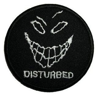 Disturbed Evil Grin / Smile Face Logo Iron on Patch