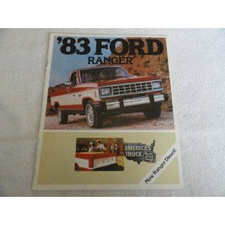1983 Ford Ranger Truck Sales Brochure
