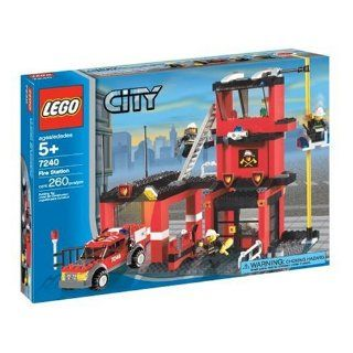 LEGO City Fire Station Toys & Games