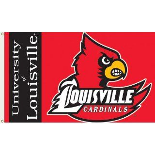 Louisville Cardinals 3 Ft. X 5 Ft. Flag W/Grommets SKU