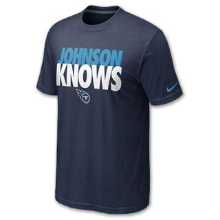 Nike NFL Tennessee Titans Chris Knows Mens Tee Shirt