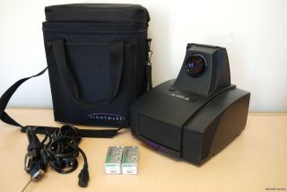 Lightware VP800 Plus LCD Home Theater Projector w/ extra lamps & Case