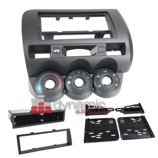 Single Double DIN Installation Dash Kit for 2007 2008 Honda Fit