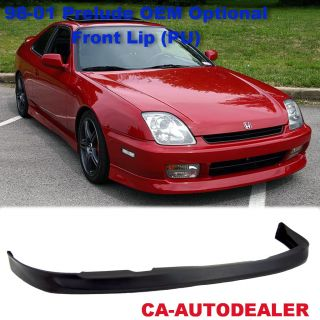 97 01 Honda Prelude OEM Optional Front Bumper Lip Kit PU Polyurethane