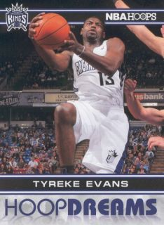 2011 12 Panini NBA Hoops Hoop Dreams 8 Tyreke Evans Sacramento Kings