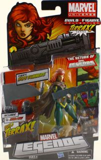 Marvel Legends 2012 Terrax Wave 1 Hope Summers 7 Action Figure