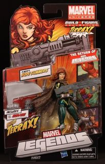 Scale Marvel Legends Terrax Series 1 Hope Summers Figure