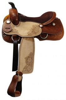 Pleasure/ Trail Saddle by Double T NEW in MED OIL Tack 91 Horse Tack