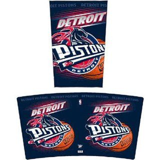 Detroit Pistons NBA Tapered Wastebasket (15 Height