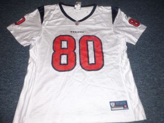 Womens Reebok NFL Houston Texans Andre Johnson Jersey Size L