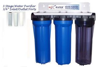 Stage Whole House Water Filter Sediment Carbon Filter
