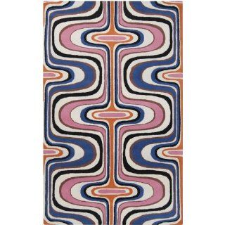 Dreamscape 4414 Contemporary Hand Tufted Wool Rug 8.00 x