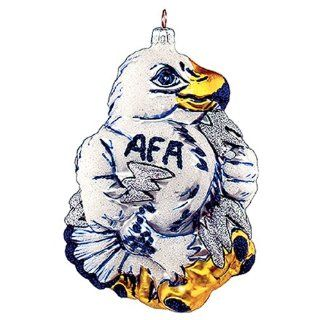 Treasures Air Force Falcons Glass Ornament Sports
