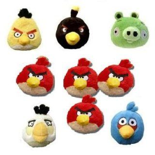 Rovio 5 Angry Birds   Stuffed Animal Plush Toys   Red