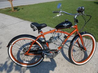 New 2012 Huffy Cranbrook Motorized 26 inch Beach Cruiser Bicycle