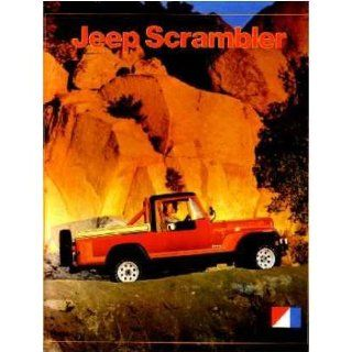 1981 Jeep Scrambler Sales Brochure Literature Book Piece Options