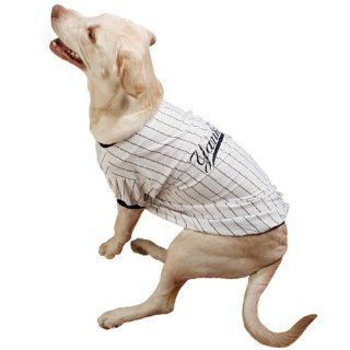 Sporty K9 Design No.2 New York Yankees Baseball Dog Jersey